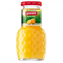 Granini cristal 0.20 L. Naranja (Caja 24 Uds.)