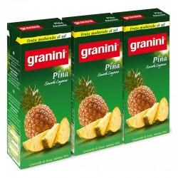 Granini Brick Slim Mel/Nar/Piña (Caja 27 Uds.)