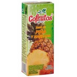 Zumo Cofrutos brik 0,20 L. Mel/Nar/Piña (Caja 24 Uds.)
