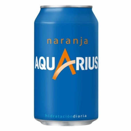 Aquarius Naranja/Normal (lata) (Pack 24 Uds.)