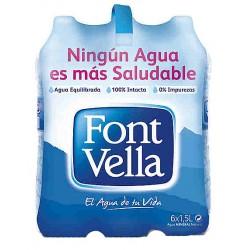 Aigua Font Vella 1,5 L. (Pack 6 Uds.)