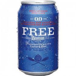 Cervesa Free Damm 0,0% (lata) (Pack 24 Uds.)