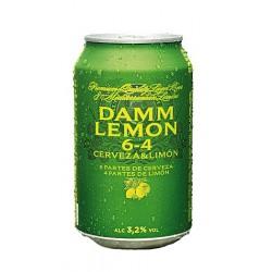 Cervesa Damm Lemon (lata) (Pack 24 Uds.)