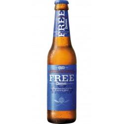 Cervesa Free Damm 0,0% 25 Cl. bot. S/R (Pack 24 Uds.)