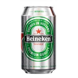 Cervesa Heineken (lata) (Caja 24 Uds.)